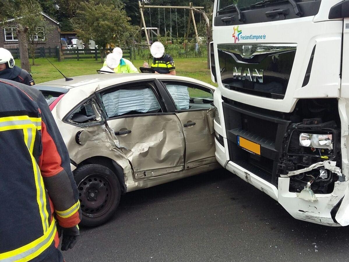 Ongeval N332 - Ampsenseweg