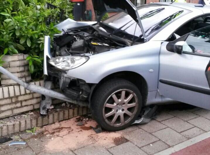 Eenzijdig ongeval Harfsen