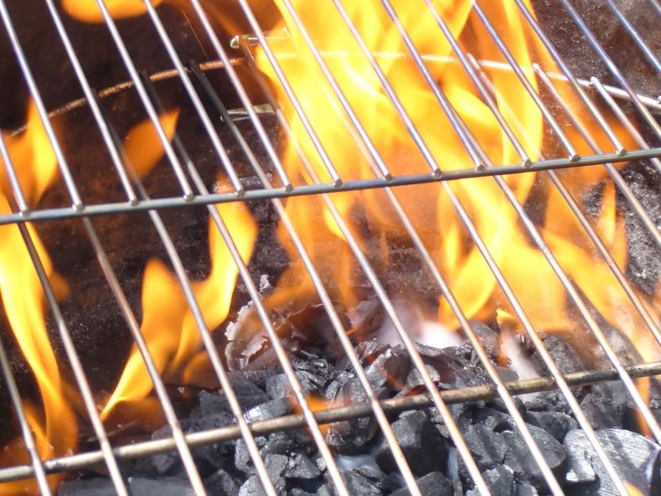 Mooi weer, barbecueën!