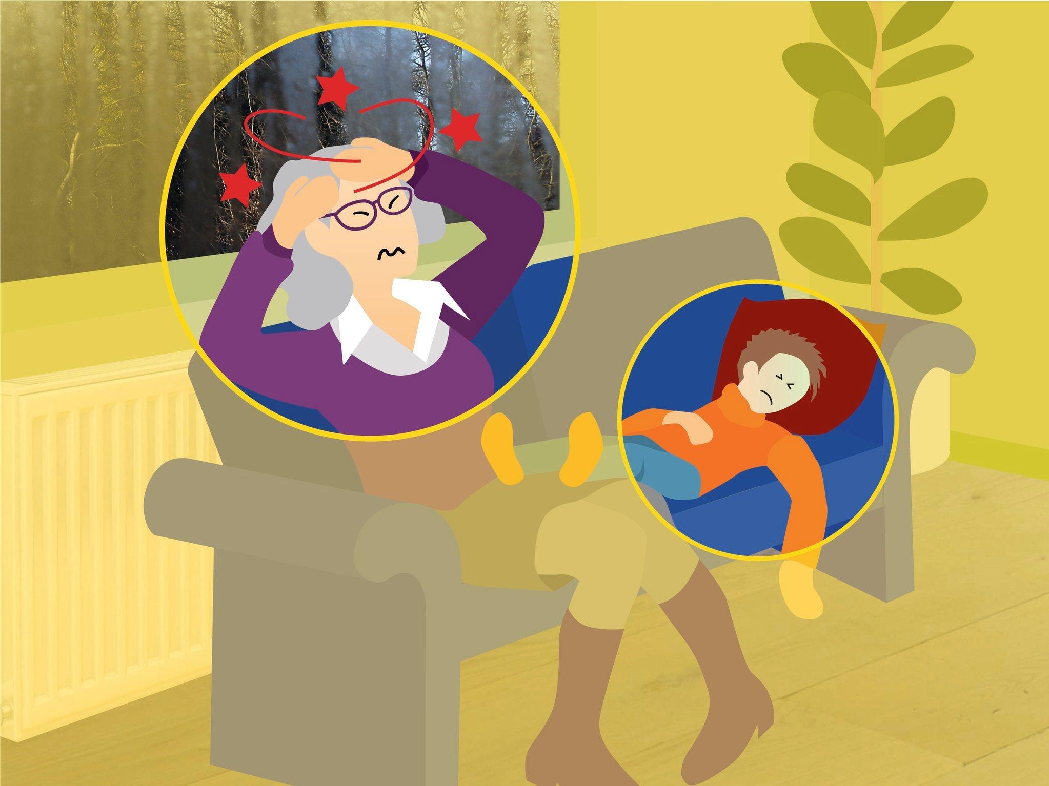 Herken jij de symptomen van een CO-vergiftiging?