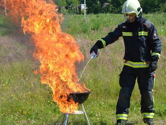 Genieten van veilig barbecueën