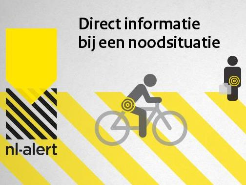 NL-Alert controlebericht op eerste maandag van de maand