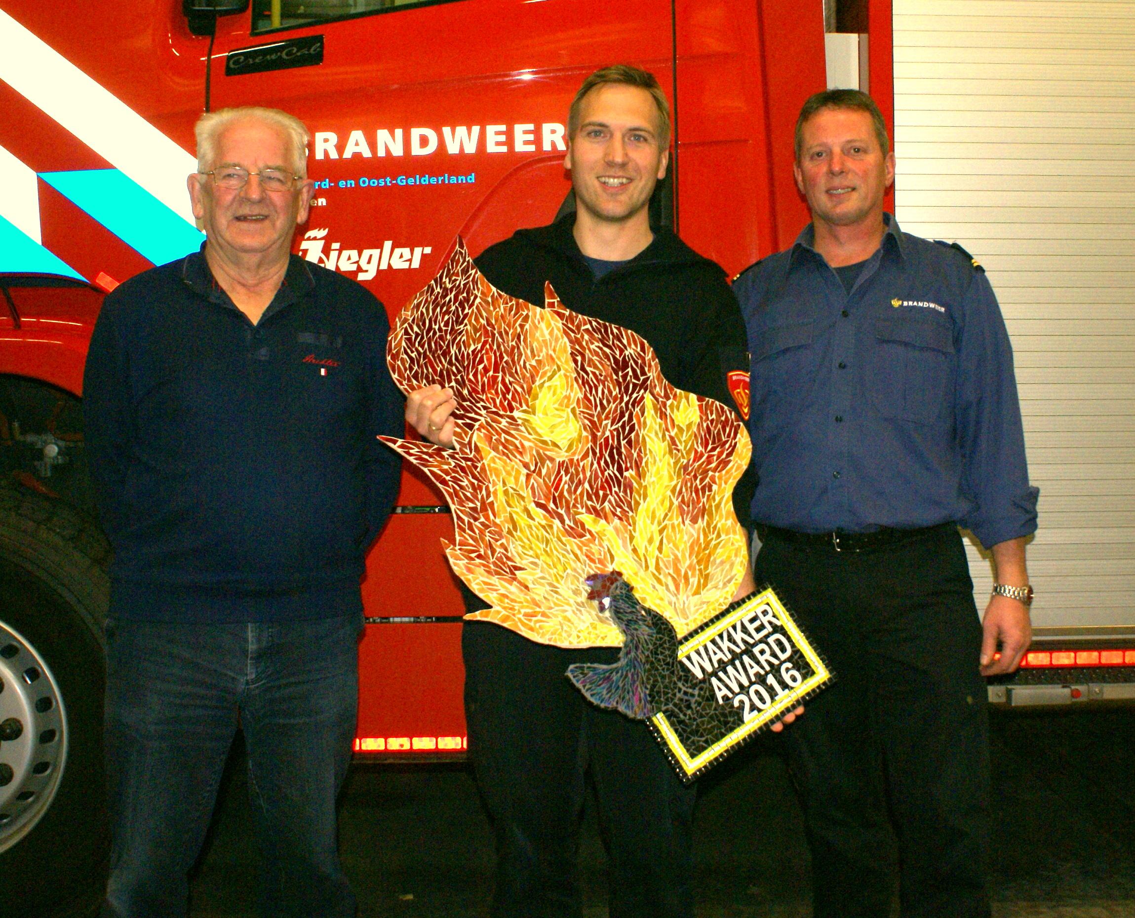 Brandweer Laren trotse winnaar Wakker Award